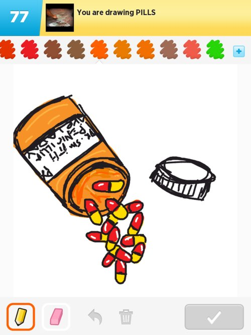 how to draw pill bottle