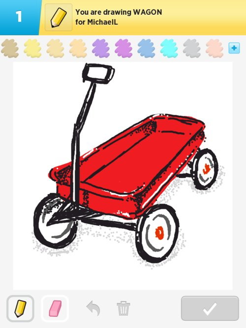 Wagon Drawings How To Draw Wagon In Draw Something The