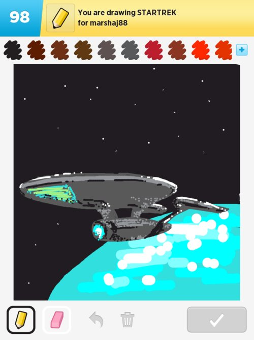 Qikdraw-startrek