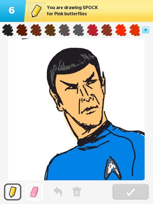 Qikdraw-spock