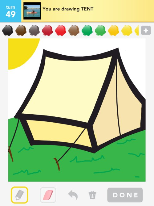 Sign in to rate! See More Drawings  sc 1 st  The Best of Draw Something & Tent Drawings - The Best Draw Something Drawings and Draw ...