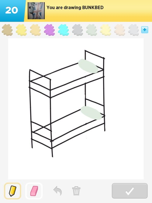 Bunk Bed Drawings