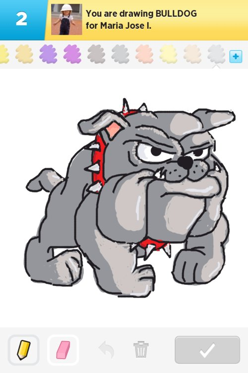 Bulldog Drawings How To Draw Bulldog In Draw Something The Best