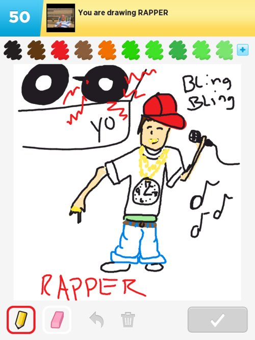 how to draw a raper