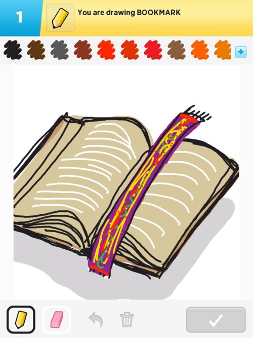 Bookmark Drawings How To Draw Bookmark In Draw Something