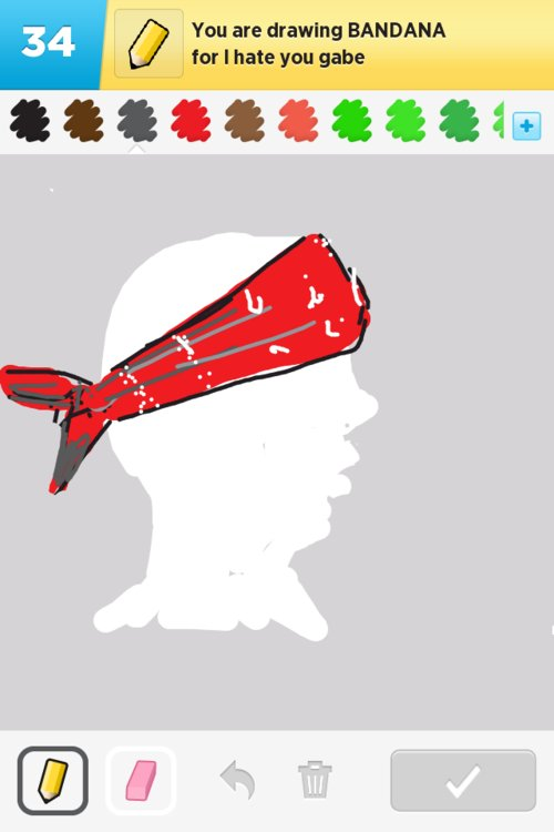 Bandana Drawings - The Best Draw Something Drawings and ... Bandana Drawing