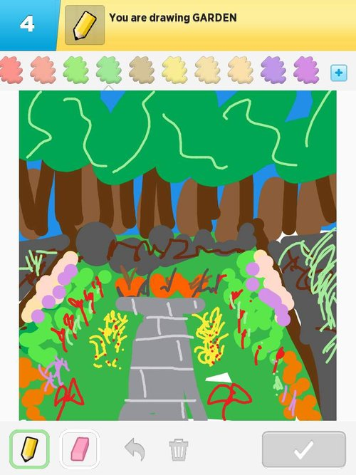 Garden Drawings - The Best Draw Something Drawings and Draw ...