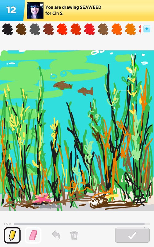 Seaweed Drawings - How to Draw Seaweed in Draw Something ...
