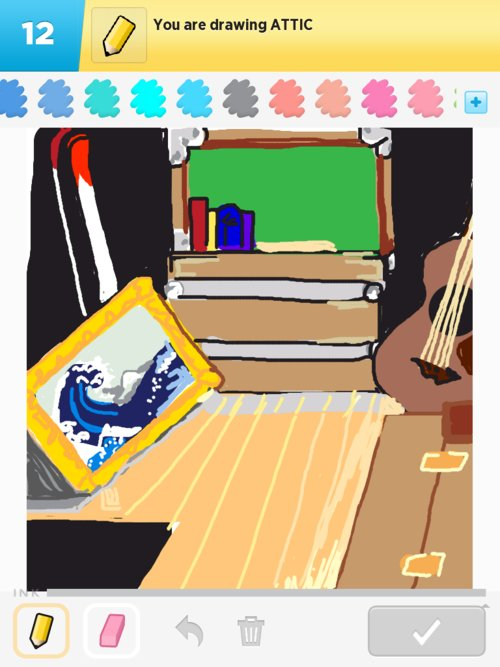 Attic drawing Old Sign In To Rate Attic Mutualart Attic Drawings How To Draw Attic In Draw Something The Best Draw