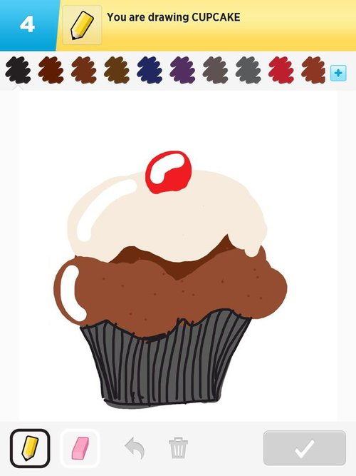 Small Cupcakes Drawings Cupcake