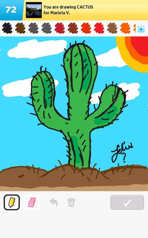 Cactus Drawings The Best Draw Something Drawings And Draw