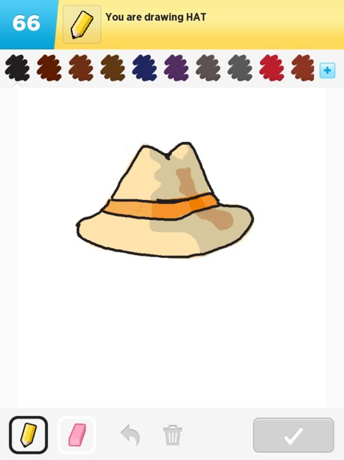 how to draw a hat on someone