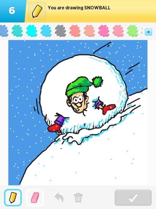 how to draw a snowball in pythin
