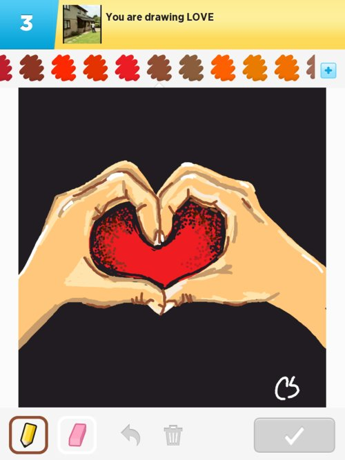 how to draw love pictures