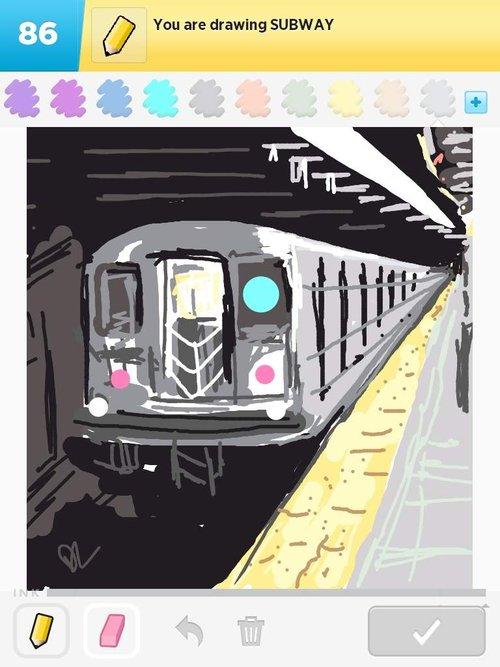 Haring Subway Drawings Subway