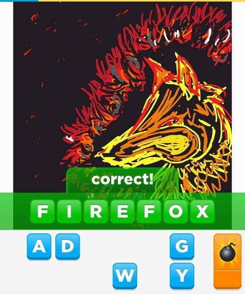 how to draw a firefox