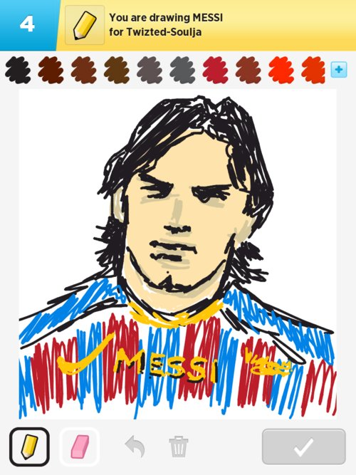 Qikdraw-messi