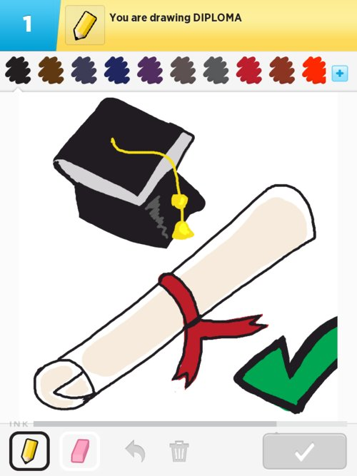 Diploma Drawings - How to Draw Diploma in Draw Something ...
