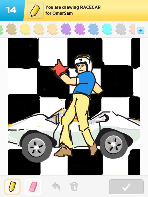 Qikdraw-racecar