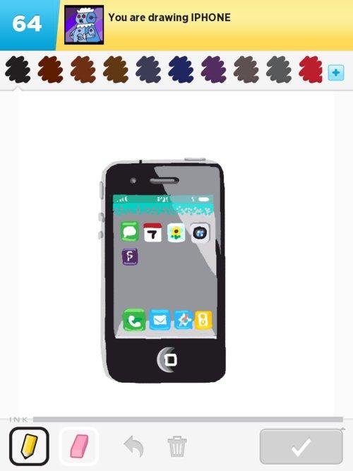 Как сделать на айфоне как нарисованное