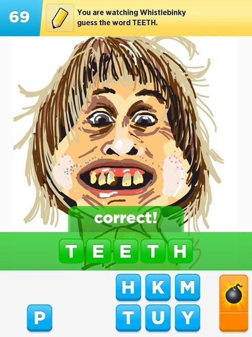 Teeth..