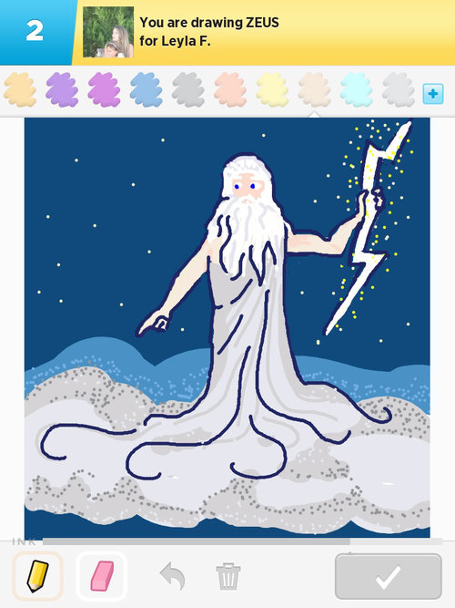 Zeus Draw Something