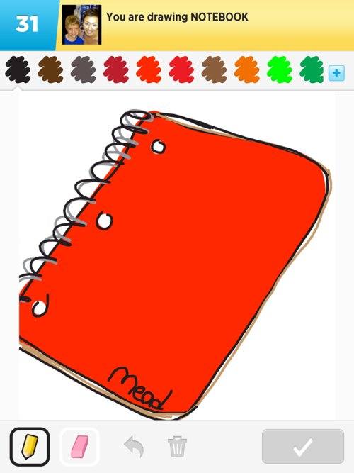 notebook drawings how to draw notebook in draw something