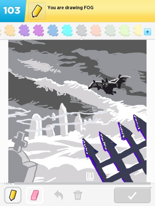 Fog Drawings - How to Draw Fog in Draw Something - The Best Draw ...