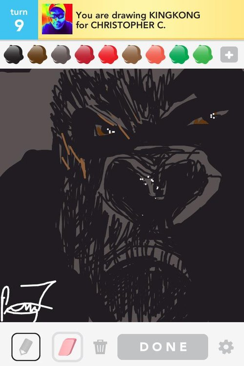 Kingkong Drawings The Best Draw Something Drawings And Draw