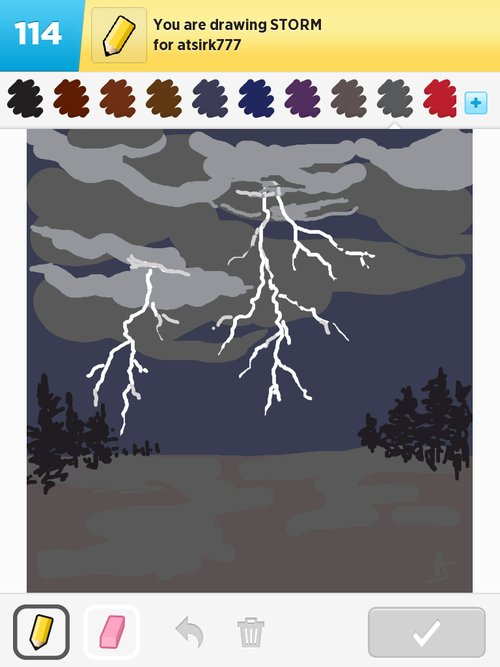 Storm Drawings - How to Draw Storm in Draw Something - The ...