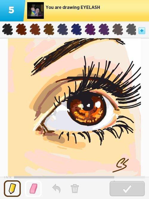 Eyelash...