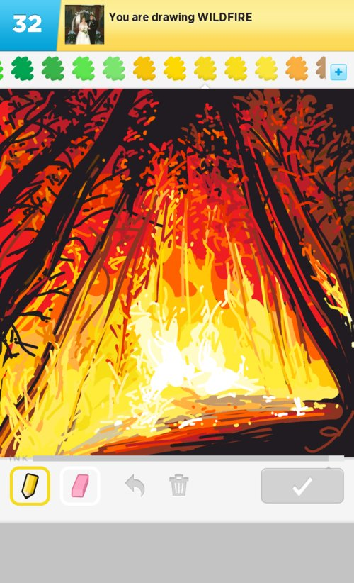 Wildfire Drawings - How to Draw Wildfire in Draw Something ...