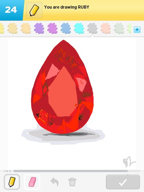 Ruby Drawings How To Draw Ruby In Draw Something The