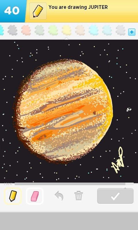 jupiter planet drawing words - photo #29