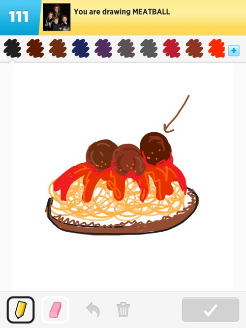 Meatball Drawings The Best Draw Something Drawings And Draw