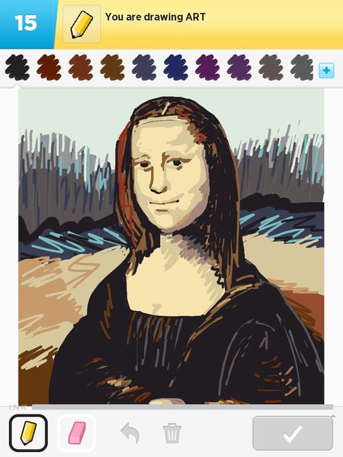 Art drawings how to draw art in draw something the for Best drawings to draw