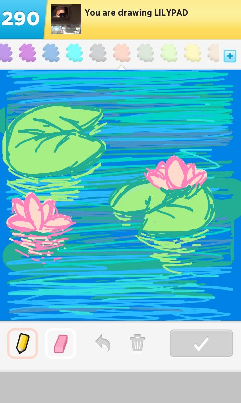 Lilypad Drawings  How to Draw Lilypad in Draw Something  The