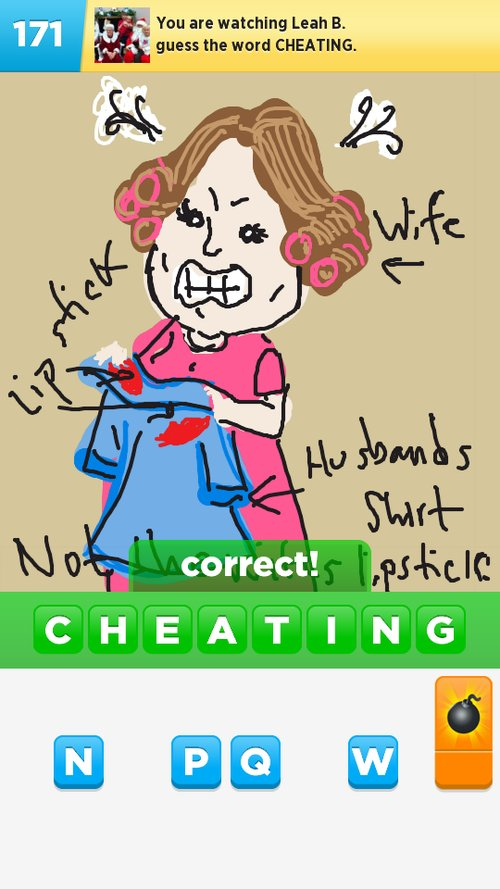 Cheating Drawings How To Draw Cheating In Draw Something The