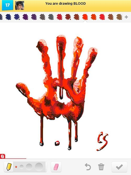 Blood..