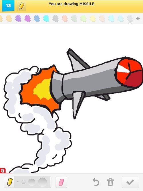 Missile Drawing Missile Drawing...