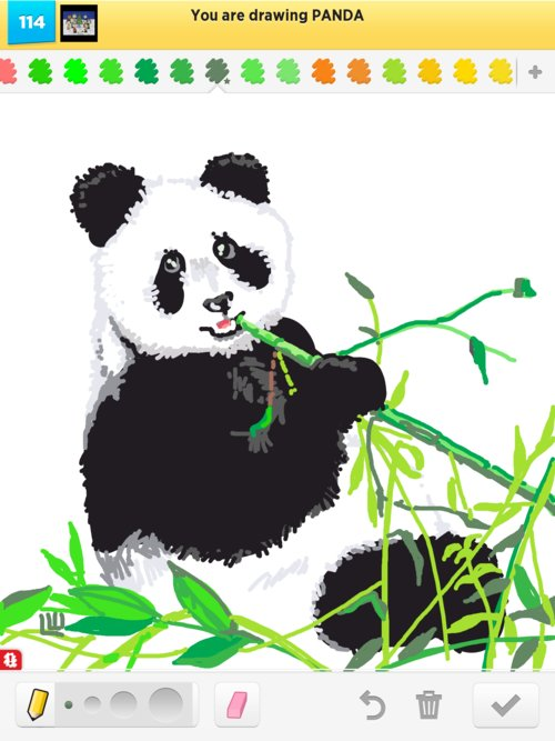 videos of how to draw pandas