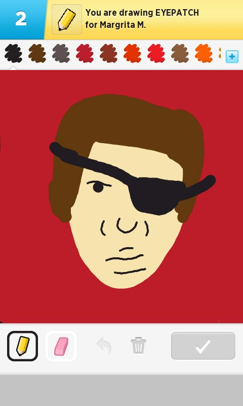 how to draw an eye patch