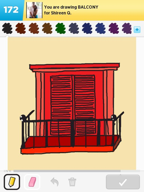 Balcony drawing pictures to pin on pinterest pinsdaddy for Balcony clipart