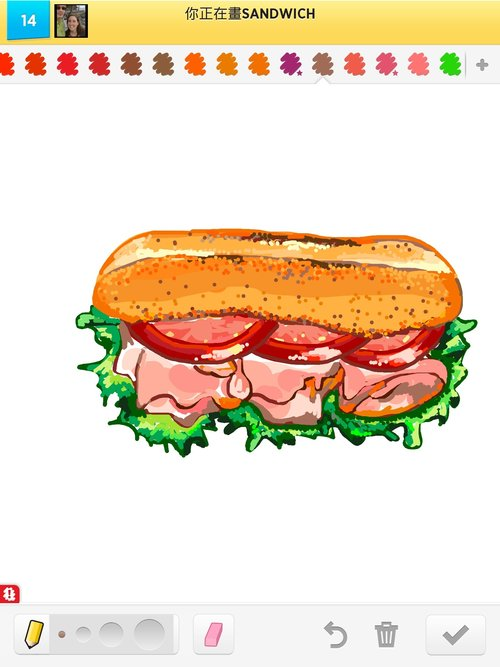 Sandwich Drawing Related Keywords & Suggestions - Sandwich Drawing ...
