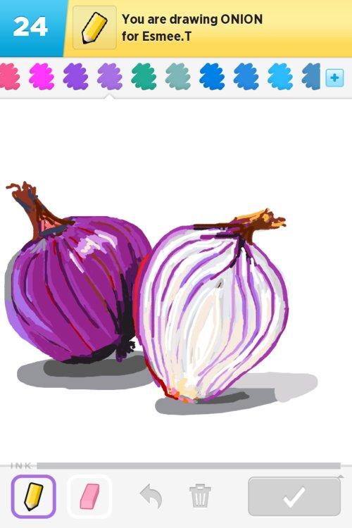 Onion Drawing Onion