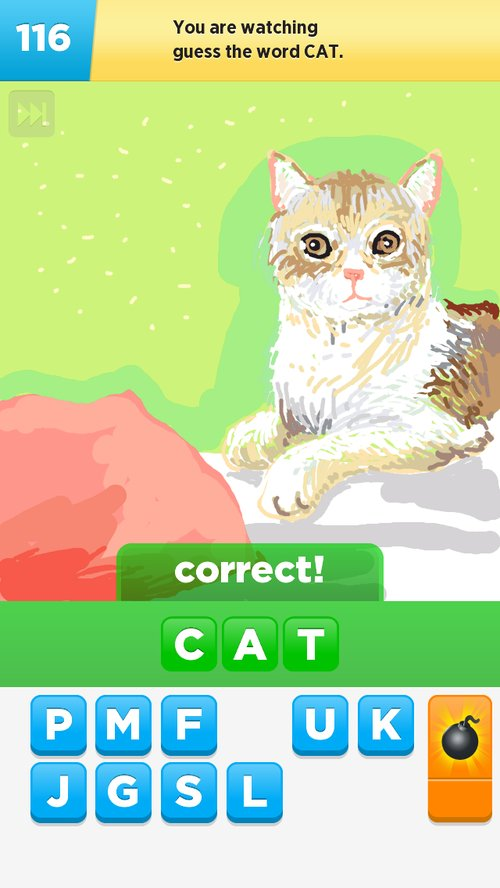 Cat Drawings How To Draw Cat In Draw Something The Best Draw
