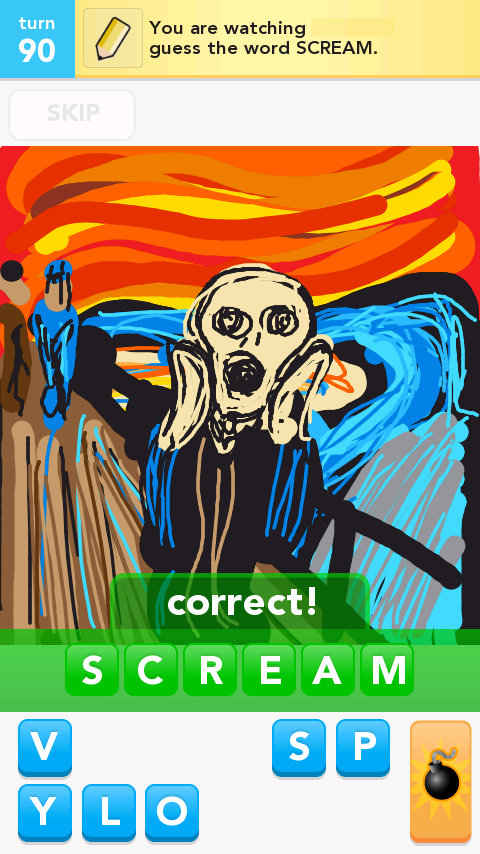 how to draw the scream