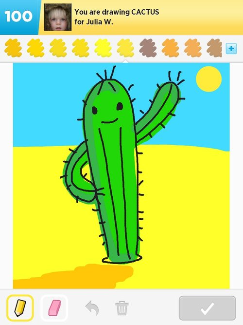 Cactus Drawings How To Draw Cactus In Draw Something The Best