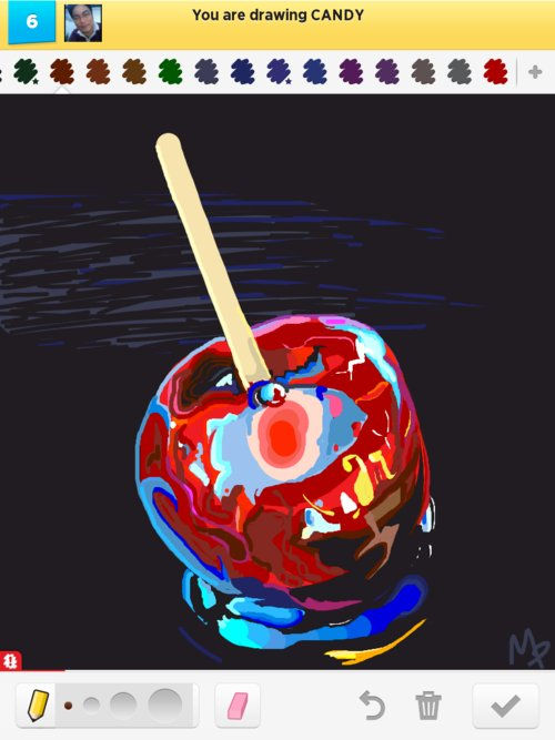 Candy_(apple)-inspired_by_the_artwork_of_micheal_king