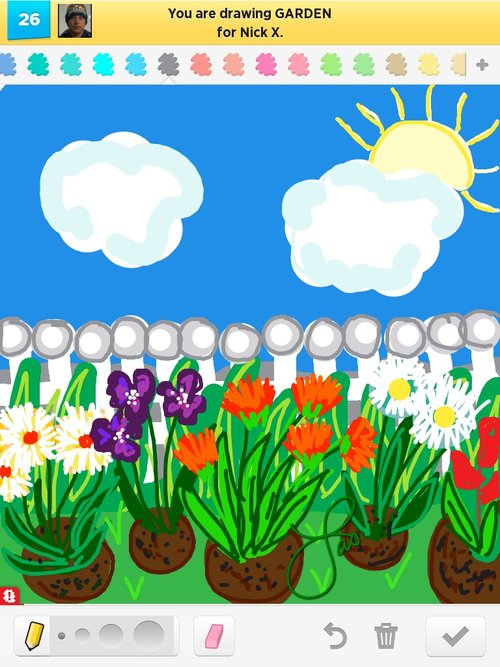 Garden Drawings How to Draw Garden in Draw Something The Best